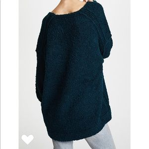Free People Sweaters - Free People Lofty V-neck Sweater Medium